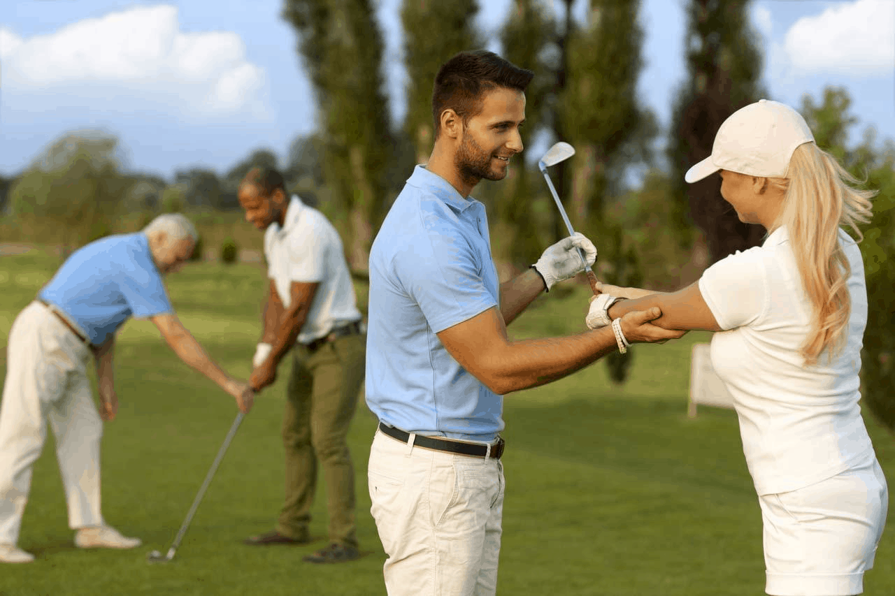 how often should you take golf lessons?