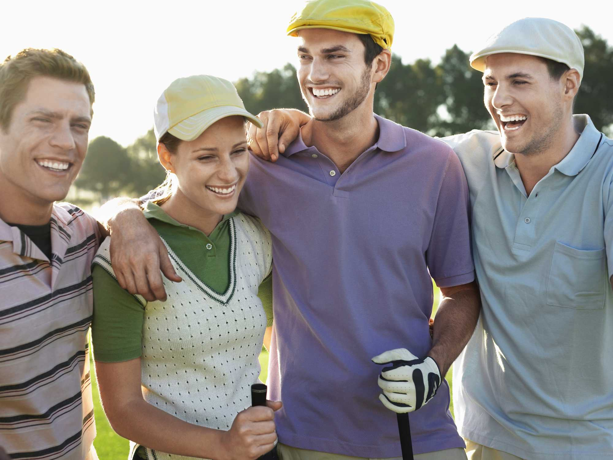 best ways to keep your golf shirt tucked in.