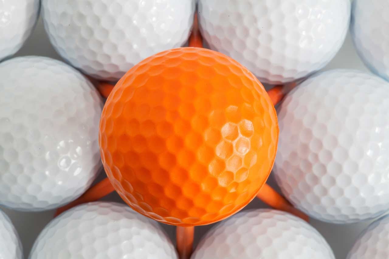 how to store golf balls so they dont get damaged.