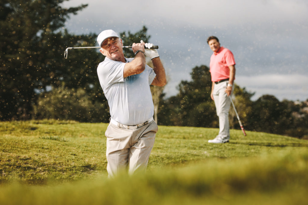 The Closed Coil Golf Swing For Seniors Explained