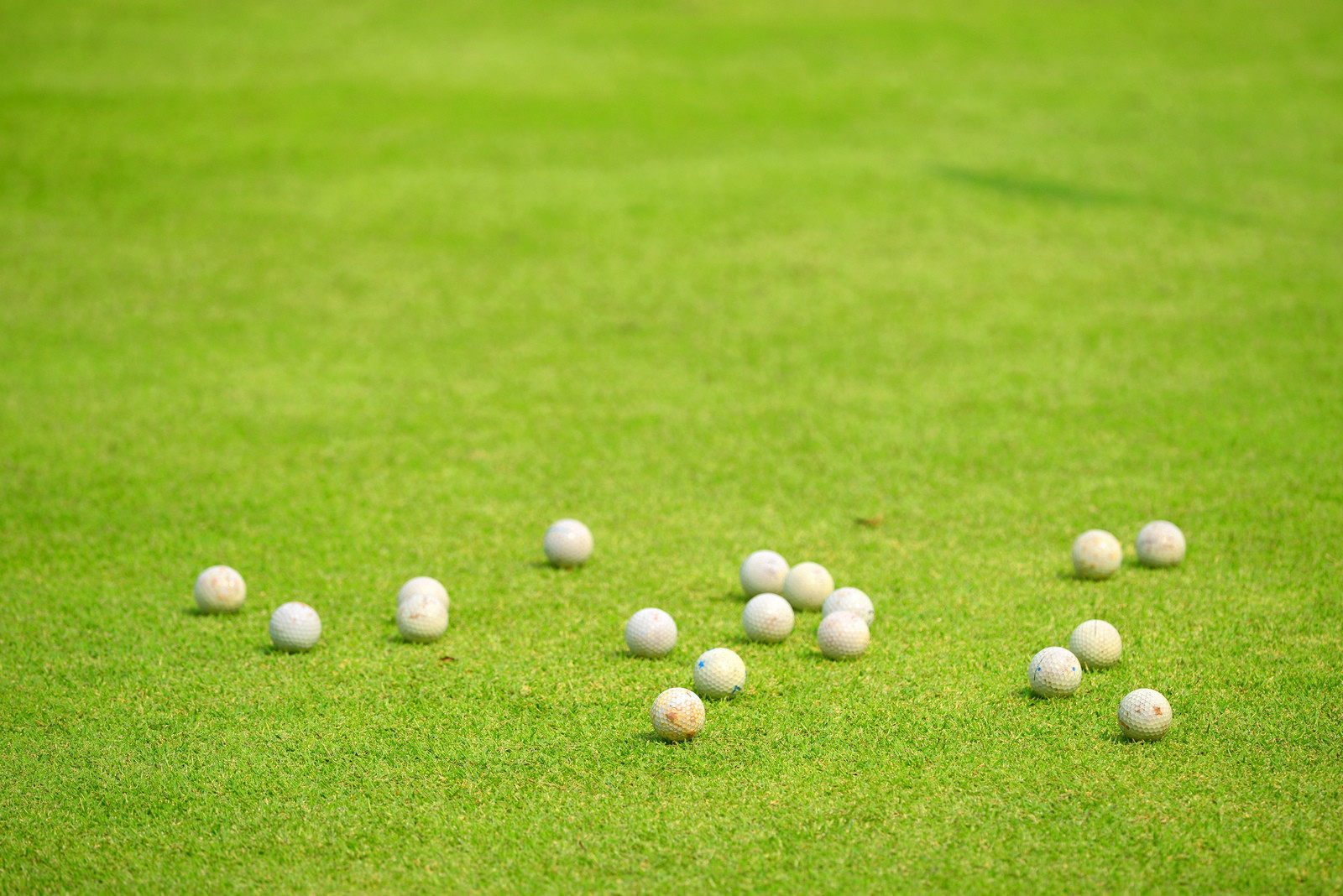 how many golf balls should I hit every day?
