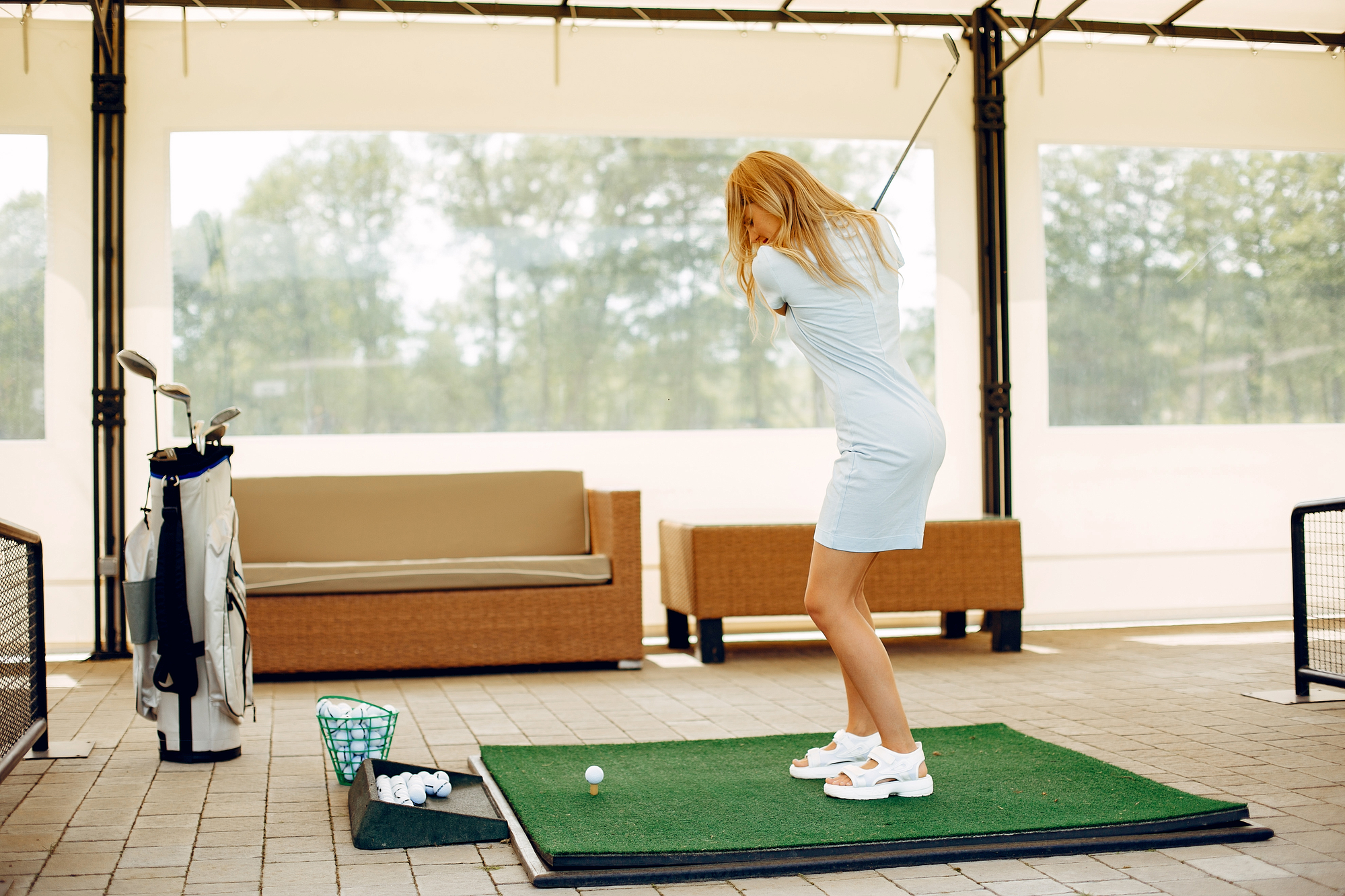 Is Hitting Golf Balls Into A Net Good Practice?